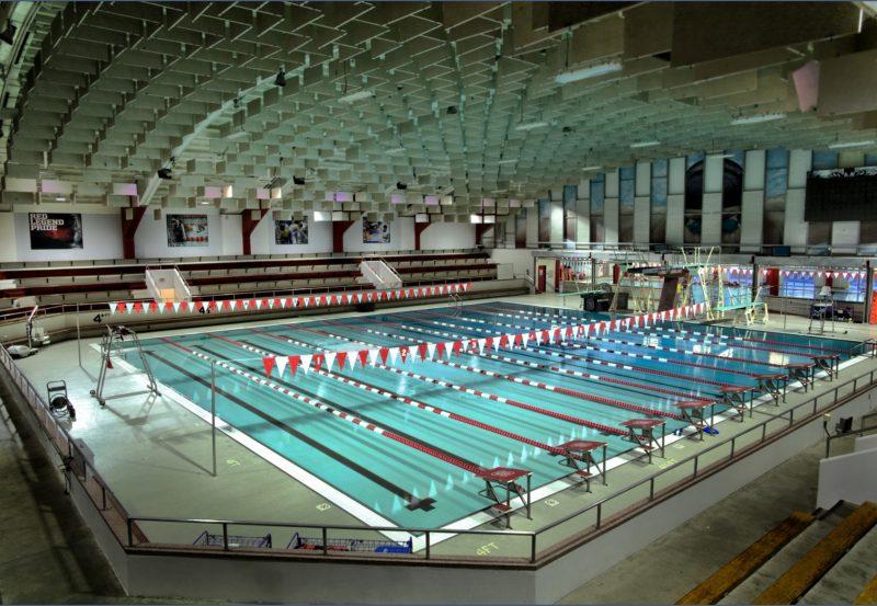 NCSU Carmichael Pool and Casey Aquatics Center Entrance Lobby